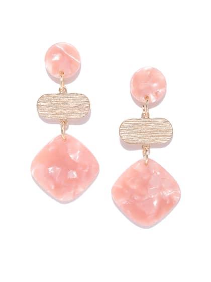 c476680c2321b Peach Earrings - Buy Peach Earrings online in India