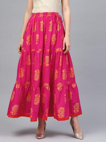 206c0c8a0f126 Ethnic Long Skirts - Buy Ethnic Long Skirts Online | Myntra