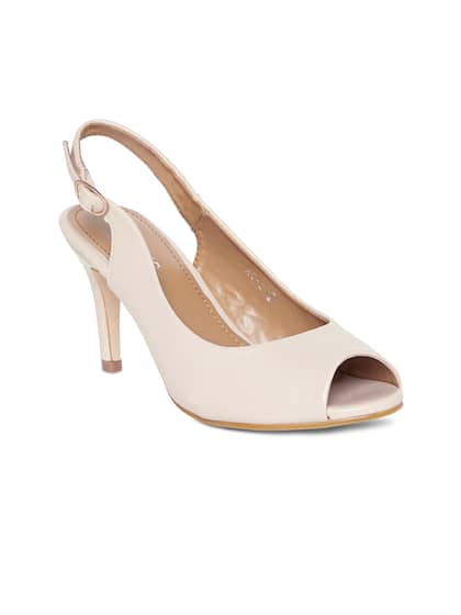 6dce56218d350 Peep Toe Heels - Buy Peep Toe Heels Online in India