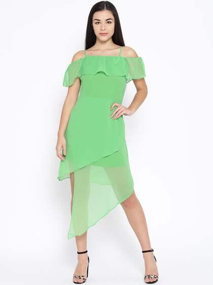 1d76de27b5ed Off Shoulder Dress - Buy Off Shoulder Dresses Online | Myntra