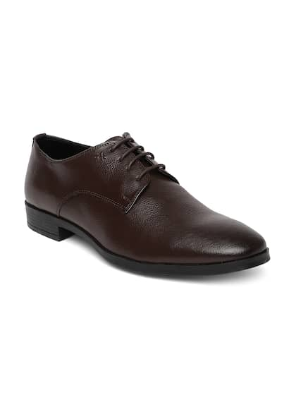 Arrow Men Brown Formal Leather Derbys