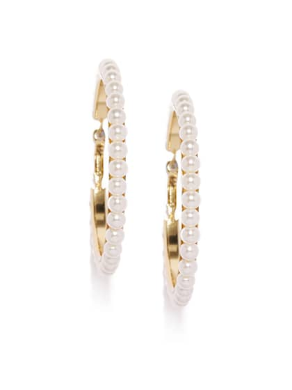 c7c4f644b60d0 Hoop Earrings - Buy Hoop Earrings Online For Women & Girls | Myntra