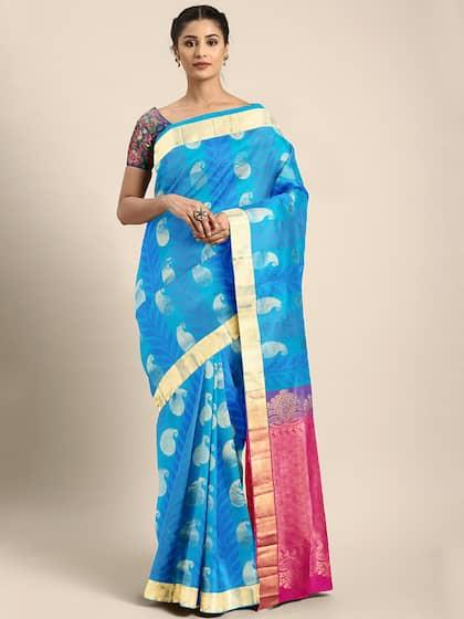 Silk Sarees - Buy Pure Silk Saree Online in India @ best price| Myntra