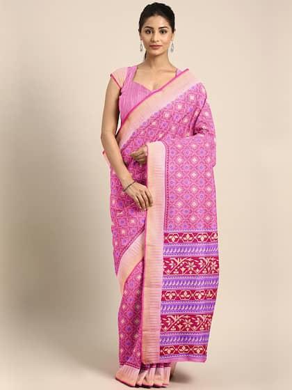 Chanderi Sarees - Buy Chanderi Sarees Online in India | Myntra
