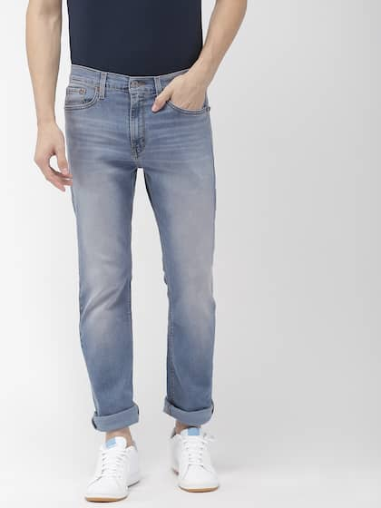 Navy Blue Jeans - Buy Navy Blue Jeans online in India