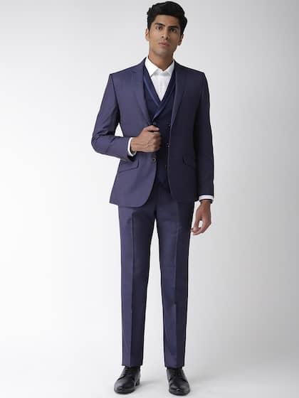 0ed5bc97 Suits for Men - Buy Men Suit & Blazer Online   Myntra