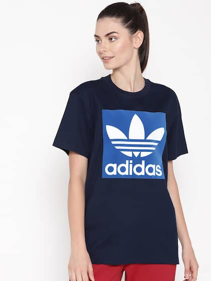 adidas Originals 3 STRIPES TEE Print T shirt conavy