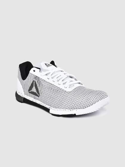 Reebok Speed TR Flexweave Mens Training Shoes Black Gym Trainers Run Treadmill