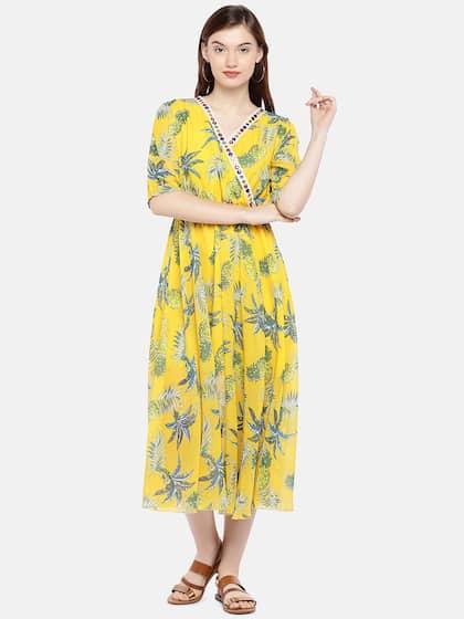899d2b336f0be Midi Dresses - Buy Midi Dress for Women & Girl Online | Myntra