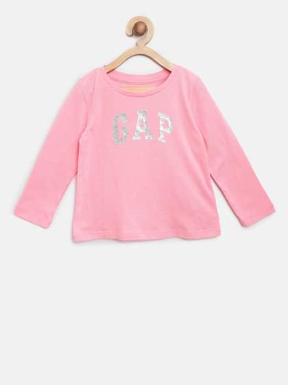 NEW Gap kids girls graphic print long sleeve school fall top shirt tee tunic 6 7