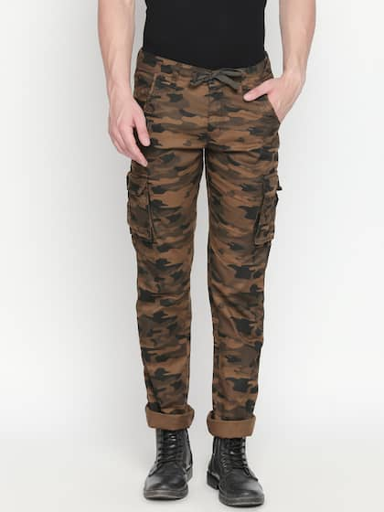 4ee20ad16 Cargo Pants For Men - Buy Latest Trendy Cargo Pants Online | Myntra