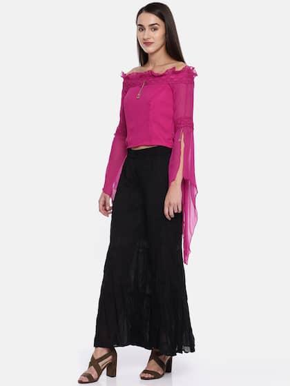 3480a6f0d23 Crop Tops - Buy Midriff Crop Tops Online for Women in India