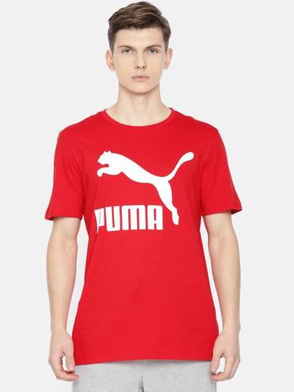 baea86047e057 Red Puma Men Tshirts - Buy Red Puma Men Tshirts online in India
