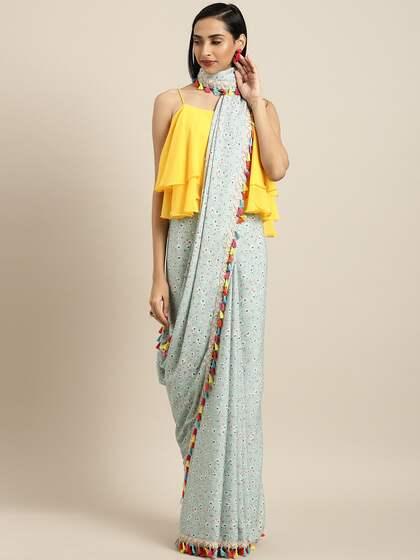 Floral Sarees - Buy Floral Print Saree Online at Best Price