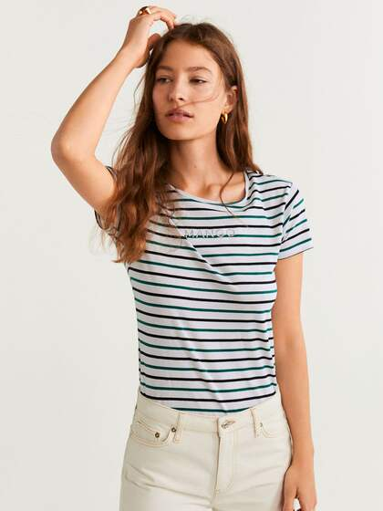 top-rated official cost charm detailing T-Shirts for Women - Buy Stylish Women's T-Shirts Online ...