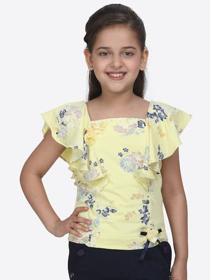 Girls Tops - Buy Stylish Top for Girls Online in India   Myntra