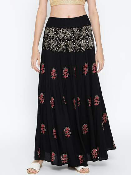Long Skirts - Buy Long Skirts Online in India
