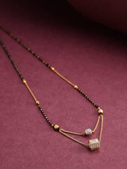 Mangalsutra Buy Mangalsutra Online In India Myntra