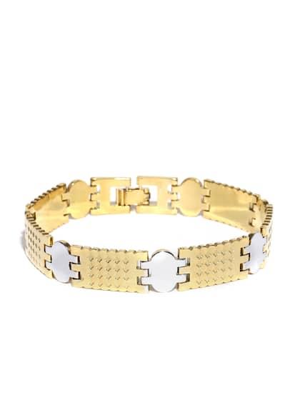 1a43267781078 Mens Bracelets - Buy Bracelet for Men Online   Myntra