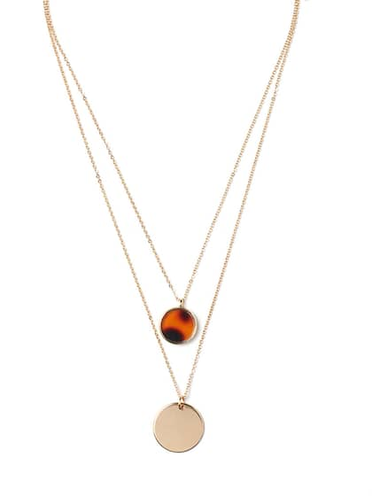 a86b215553496 Necklace - Buy Necklace for men, women & girls Online | Myntra