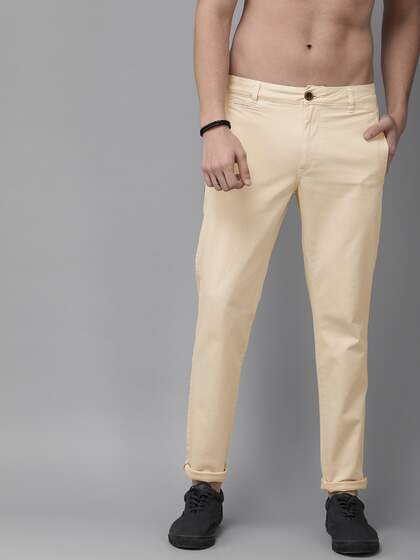 """36/"""" 28/"""" PEPE Jeans Trousers Men/'s Chino Twill Casual Pants Cotton Beige Sizes"""