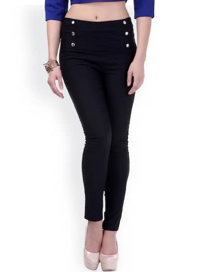 a5da08c5d84be Black Jeggings - Buy Black Jeggings Online in India