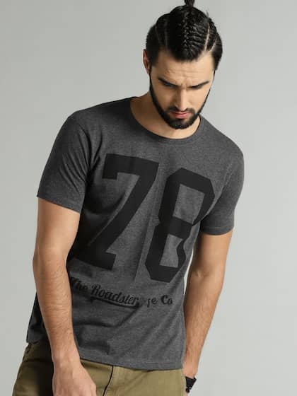 4323ecb3fa33a Roadster. Printed Round Neck T-shirt