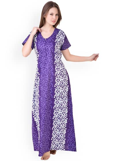 631be5f2565 Cotton Nightdresses - Buy Cotton Nightdresses Online in India