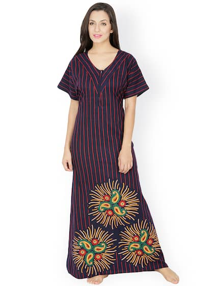 5c605365aa Cotton Nightdresses - Buy Cotton Nightdresses Online in India
