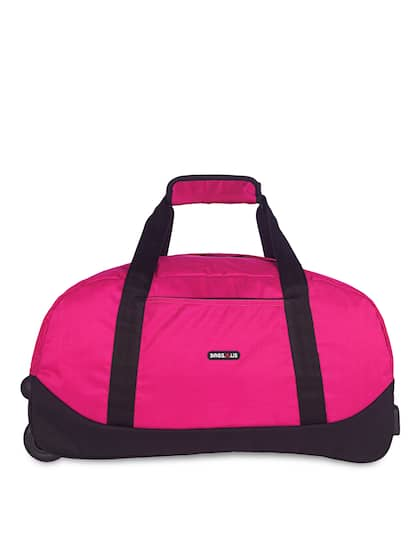 Bags.R.us Unisex Pink Medium Duffel Trolley Bag