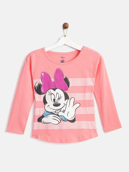 Baby Boy 2 Pack Long Sleeve T Shirts with Mickey Mouse detail 1 Grey/& 1 Black