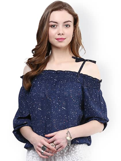 2431413cc23 Off Shoulder Tops - Buy Off Shoulder Tops Online in India | Myntra