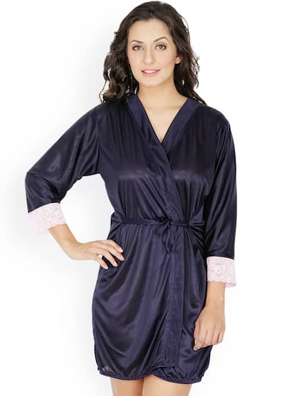 ebdbca07b46 Women Nightwear Robe - Buy Women Nightwear Robe online in India