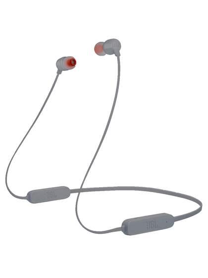 JBL Unisex Grey Tune 165 Bluetooth Wireless In-Ear Headphones