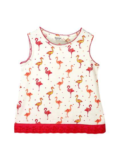 770d192a167c2c White Tshirt Girls Tops - Buy White Tshirt Girls Tops online in India