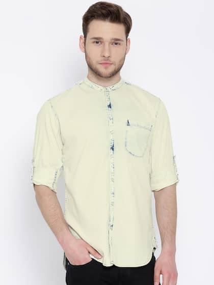 3ef3344655 Denim Shirts - Buy Denim Shirts for Men Online in India