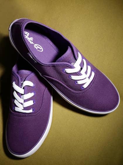 Boltio Women Purple Canvas Shoes