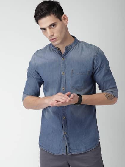 Denim Shirts - Buy Denim Shirts for Men Online in India fb4af9946
