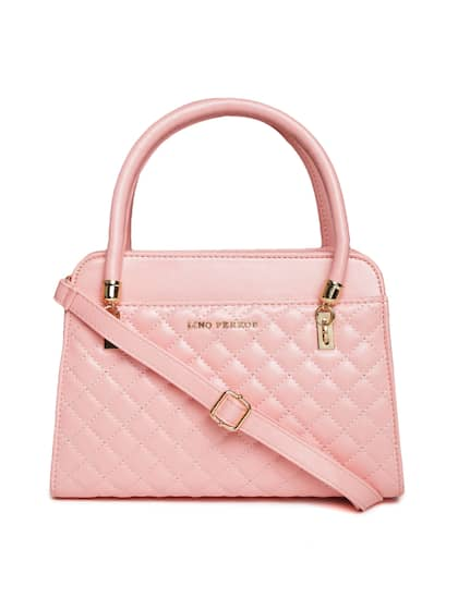 6f47d673ae82 Lisa Haydon for Lino Perros Pink Quilted Handbag with Detachable Sling Strap