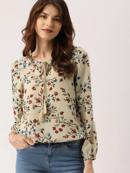 329d417a780149 Long Sleeve Tops - Buy Long Sleeve Tops online in India