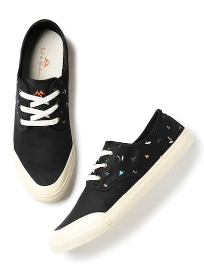 Black Casual Shoes - Buy Black Casual Shoes Online in India 87242b13c0