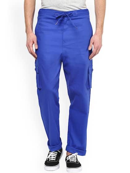 4e7b56c2b36 Men Casual Trousers - Buy Casual Pants for Men in India - Myntra