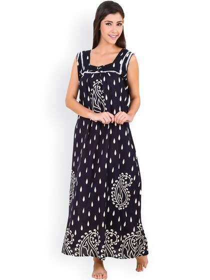 dbbff960 Cotton Nightdresses - Buy Cotton Nightdresses Online in India | Myntra