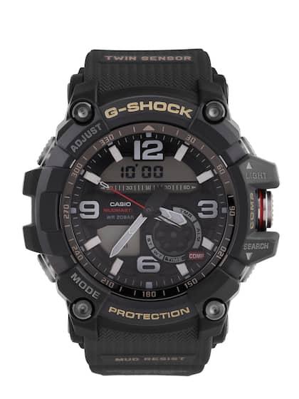 da486739835d CASIO G-Shock Men Black Analogue-Digital Watch GG-1000-1ADR G660