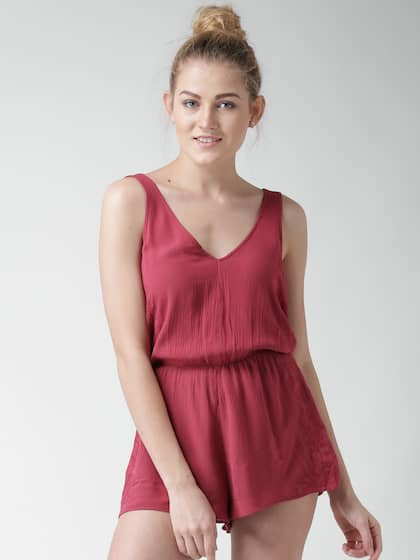 4aefcbcdf77f Forever 21 Jumpsuit - Buy Forever 21 Jumpsuit online in India