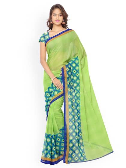 5051062938 Synthetic Sarees - Buy Synthetic Sarees Online - Myntra