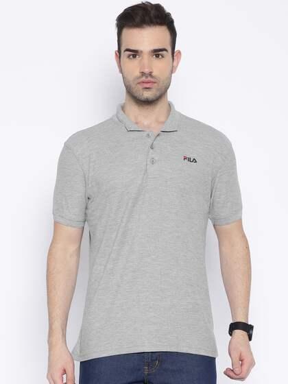f92da873df8 Fila T-shirt - Buy Fila T-shirts for Men   Women Online in India