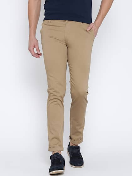 0b5a6596d6c Trousers For Men - Buy Mens Trousers Pants Online - Myntra