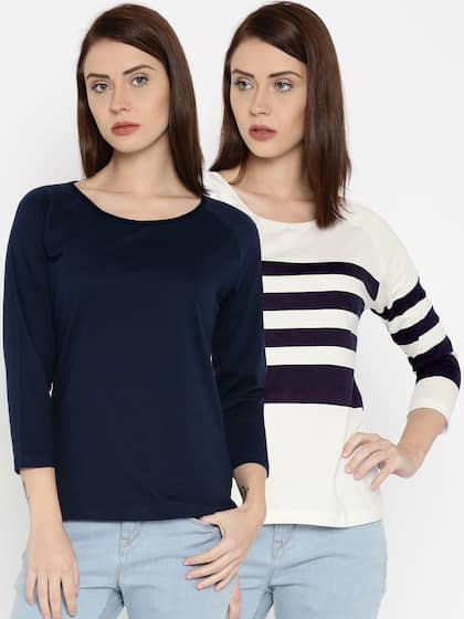 T-Shirts for Women - Buy Stylish Women's T-Shirts Online