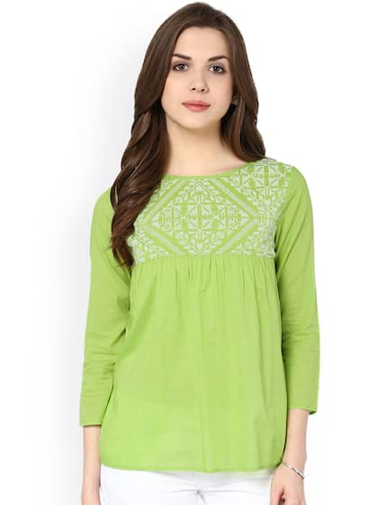 924fabf0 Ladies Tops - Buy Tops & T-shirts for Women Online | Myntra